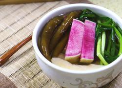 韩式萝卜水泡菜