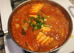 韩式泡菜汤(김치찌개)