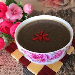 黑芝麻核桃红枣燕麦粥
