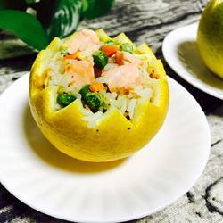香橙三文鱼炒饭