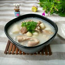 山药莲子猪肚汤的做法[图]