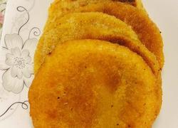 南瓜糯米粉饼