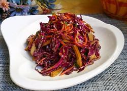 凉拌紫菜豆腐干