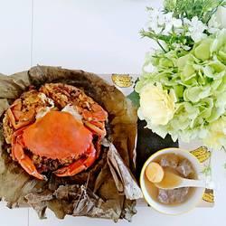 糯米蒸膏蟹