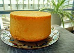 6寸鲜橙汁戚风蛋糕