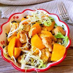 鸡肉芒果沙拉