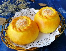 南瓜椰香面包