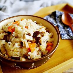 香菇糯米饭
