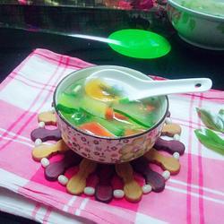黄瓜胡萝卜皮蛋汤的做法[图]