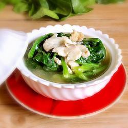 菠菜鱼片汤