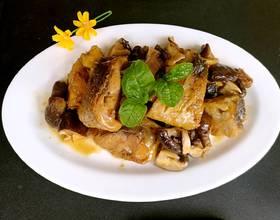 香菇腊鱼干