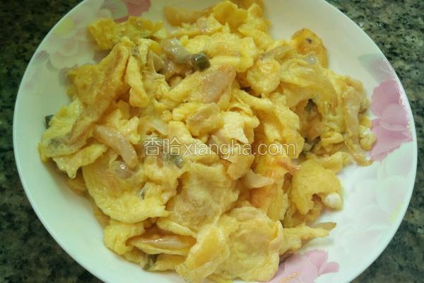 榨菜桂花蛋