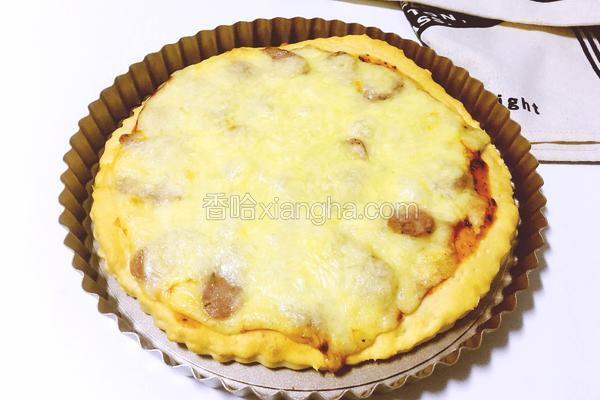 珍妮珍馐香肠披萨