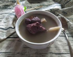 红豆地瓜筒骨汤