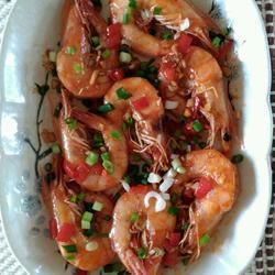 柠檬虾(泰菜)