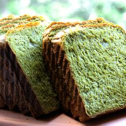抹茶吐司面包