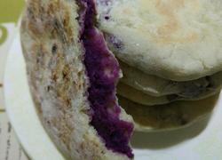 紫薯饼无糖无油版