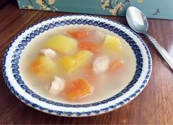 鱼汤煲木瓜