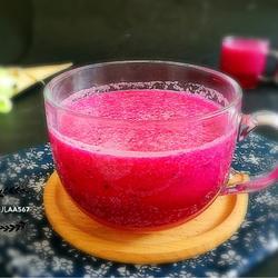 火龙果雪梨汁