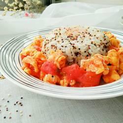 藜麦番茄饭