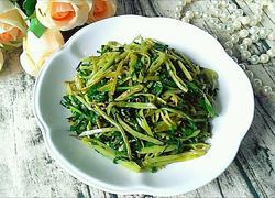 韭菜炒扁豆丝