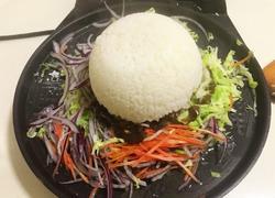 电饼铛黑椒肥牛饭