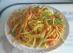 炒土豆丝(炒三丝)
