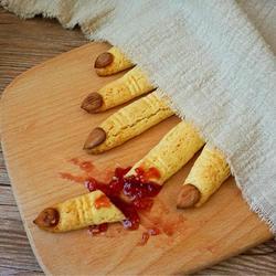 万圣节手指饼干