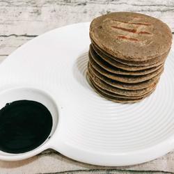 荞麦黑芝麻松饼