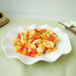 玉米胡萝卜炒蛋