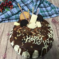 巧克力淋面蛋糕