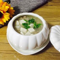 芋艿肉末豆腐羹