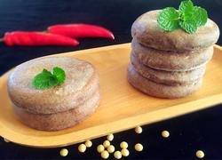 豆浆杂粮发面饼