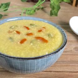 南瓜子小米粥