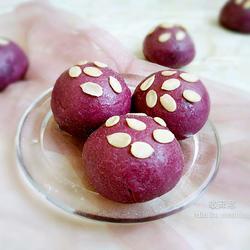 低热量紫薯面包的做法[图]
