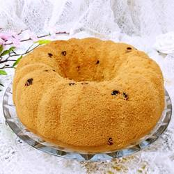 全蛋蛋糕(蓝莓果干)