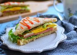 火腿三明治