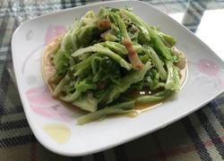腊肉卷心菜