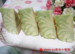 青汁斑马纹蛋糕