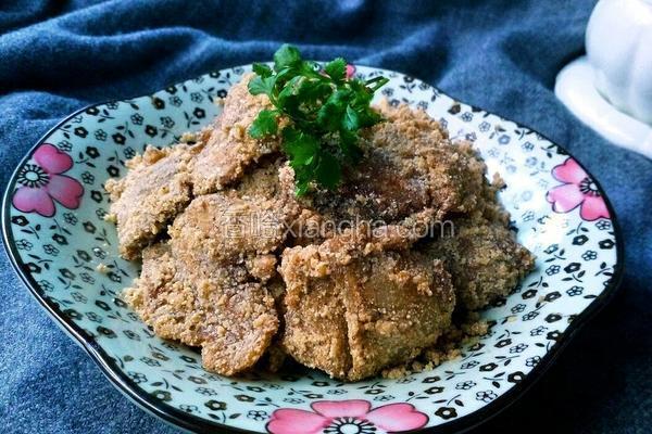 玉米面粉炒肉