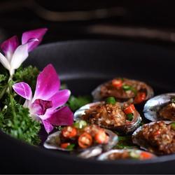 蒜香蚝汁鲍鱼