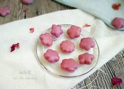 紫薯奶香小花馒头