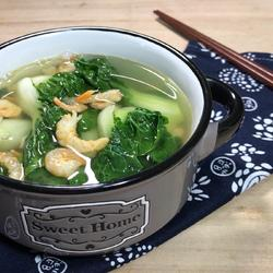 虾米白菜汤