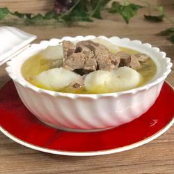 羊肉山药汤
