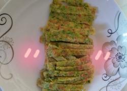杂蔬鸡蛋饼