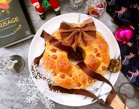珍妮珍馐圣诞花环面包