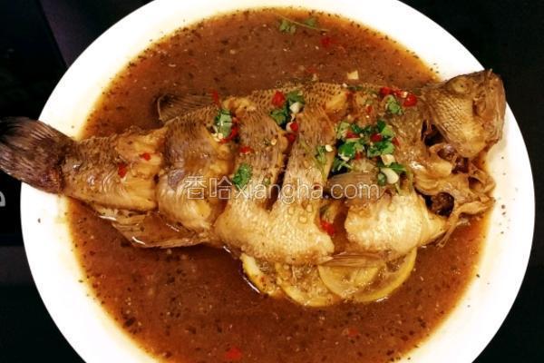泰式蒸鲈鱼