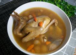 桂圆枸杞鸽子汤