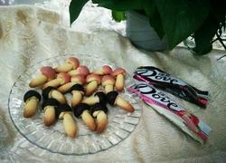 蘑菇饼干(Diy蘑古力)