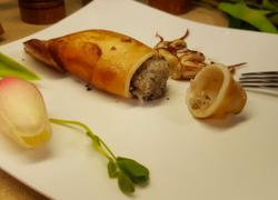 糯米鱿鱼卷